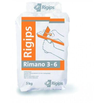 Rigips RIMANO 3-6 mm 5 kg vékony vakolat