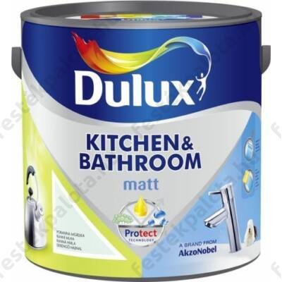 Dulux falfesték konyha és fürdőszoba 2,5 l Garnéra tapas