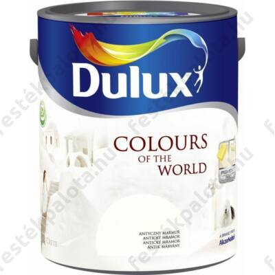 Dulux falfesték Nagyvilág színei 5 l -Hellén napsütés