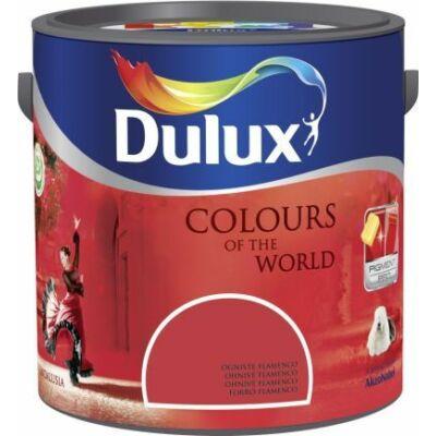 Dulux falfesték Nagyvilág színei 2,5 l -Forró flamenco