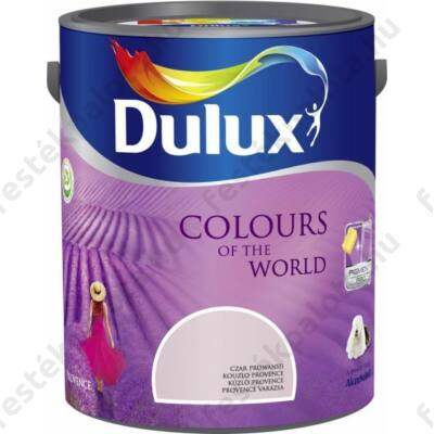 Dulux falfesték Nagyvilág színei 5 l -Hamvas rózsa