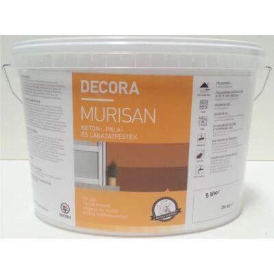 DECORA MURISAN beton-, pala- és lábazatfesték 5 l barna