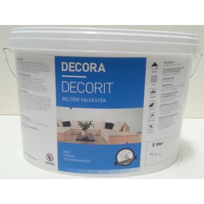 DECORA Decorit PRÉMIUM beltéri falfesték 5 l fehér