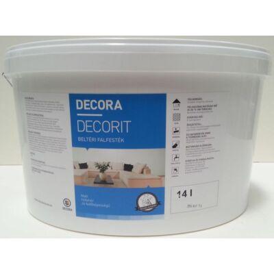 DECORA Decorit PRÉMIUM beltéri falfesték 14 l fehér
