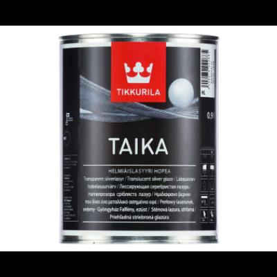 Tikkurila TAIKA falfesték 0,9 l gyöngyházfényű ezüst HM