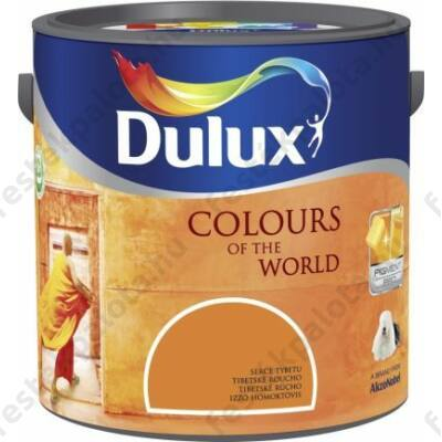 Dulux falfesték Nagyvilág színei 2,5 l -Szikrázó napkelte