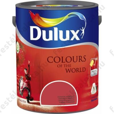 Dulux falfesték Nagyvilág színei 5 l -Carmen rózsa