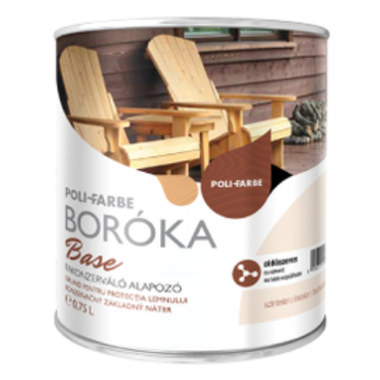 BORÓKA Base fakonzerváló alapozó 0,75 l