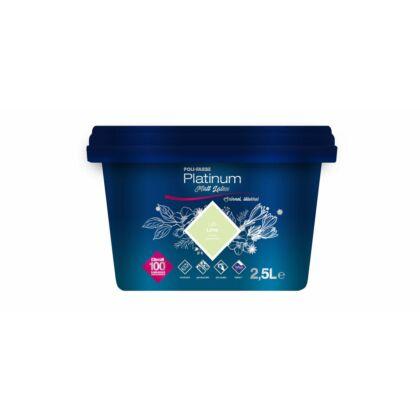 Polifarbe Platinum Matt latex falfesték 2,5 l Lime L25