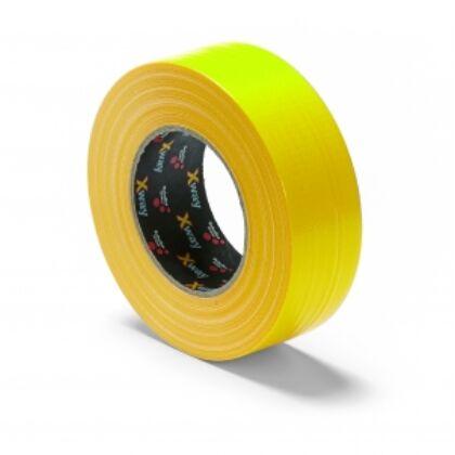 Schuller X-WAY STRONG Építményszalag (44 mm x 50 m) sárga, szövet