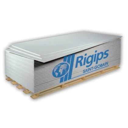 Rigips Normál Gipszkarton RB 12,5 mm x 1250 x 200 2,5 m2 / tábla