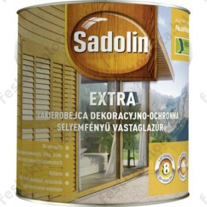 Sadolin Extra vastaglazúr 2,5 l fehér