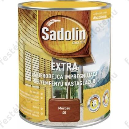 Sadolin Extra vastaglazúr 0,75 l rusztikus tölgy