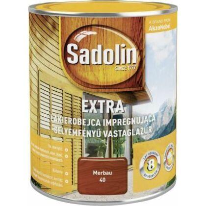 Sadolin Extra vastaglazúr 0,75 l svédvörös