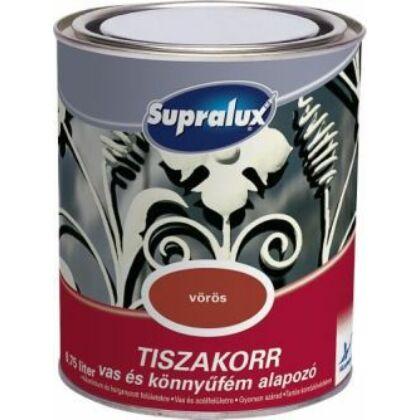 Supralux TISZAKORR vas és könnyűfém alapozó 0,75 l vörös