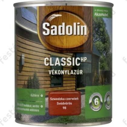 Sadolin CLASSIC vékonylazúr 0,75 l dió