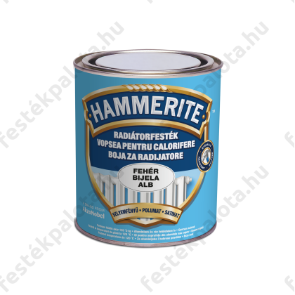 Hammerite radiátorzománc 0,75 l 100 fehér