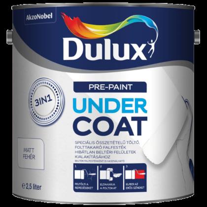 Dulux undercoat 3in1 folttakaró,repedés javító falfesték 2,5 l fehér