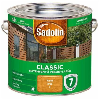 Sadolin CLASSIC sf. vékonylazúr 2,5 l színtelen