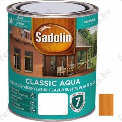Sadolin CLASSIC vizes vékonylazúr 0,75 l teak