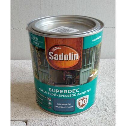 Sadolin Superdec fafesték 0,75 l galambkék