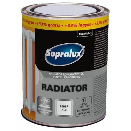 Supralux radiátor zománc sf.fehér 0,75+0,25 l