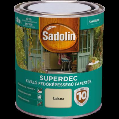 Sadolin SUPERDEC fafesték 0,75 l napsárga