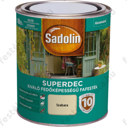 Sadolin SUPERDEC fafesték 2,5 l fehér