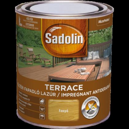 Sadolin TERRACE fapadló lazúr 0,75 l kültéri teak
