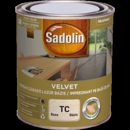 Sadolin Velvet vízes lazúr TU 0,75 l bázis