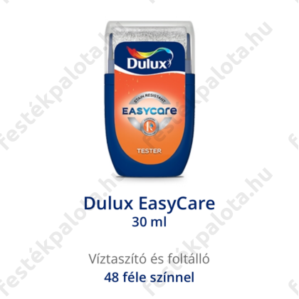 Dulux EasyCare víztaszító foltálló falfesték Tiszta fehér 30 ml