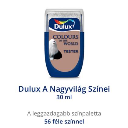Dulux falfesték A Nagyvilág színei Gangeszi kavics 30 ml ÚJ!