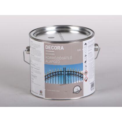 DECORA korróziógátló alapozó 2,5 l szürke