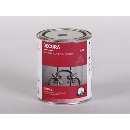 DECORA Decokorr Primer alapozó rozsdagátló 0,75 l 200 szürke