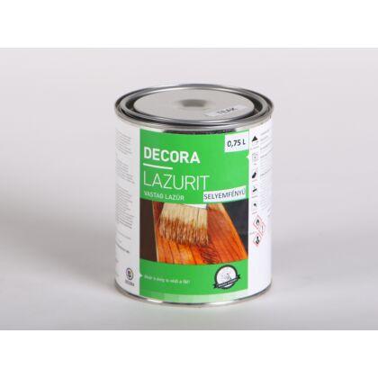 DECORA LAZURIT vastag falazúr 0,75 l sf. Teak