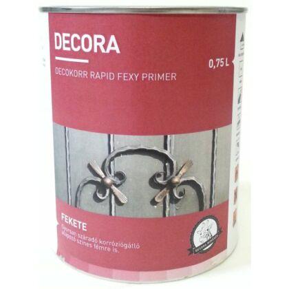 DECORA Decokorr Primer alapozó rozsdagátló 0,75 l 300 fekete