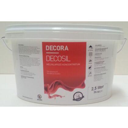 DECORA DECOSIL mélyalapozó koncentrátum 2,5 l