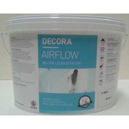 DECORA Airflow lélegző beltéri falfesték 5 l fehér