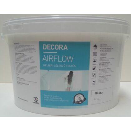 DECORA Airflow lélegző beltéri falfesték 10 l fehér