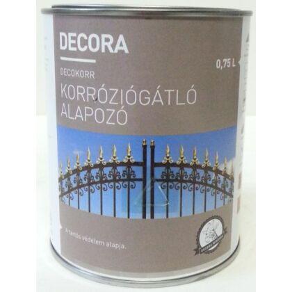 DECORA korróziógátló alapozó 0,75 l szürke