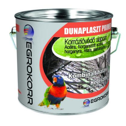 Dunaplast Primer alapozó 2,5 l rozsdagátló 800 vörös