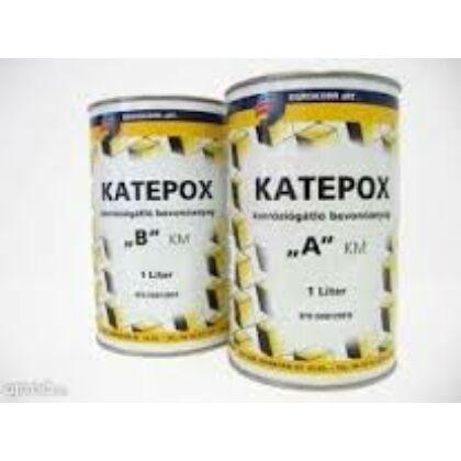 KATEPOX A korróziógátló bevonóanyag 1 l 300 fekete
