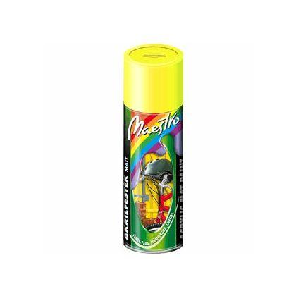 Maestro akrilfesték 400 ml aer. világító 1026 sárga