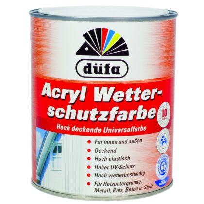 DÜFA Időjárásálló festék 2,5 l svédvörös (Acryl Wetterschutzfarbe)