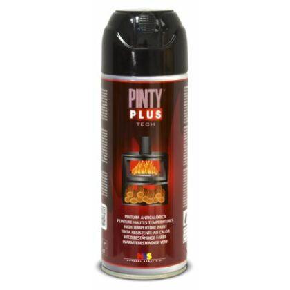 PINTY PLUS Tech Hőálló spray  600C° 400 ml fekete