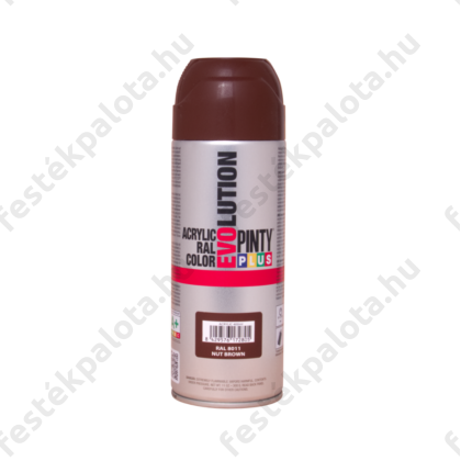 PINTY PLUS Evolution akril festék RAL 8011 dióbarna 400 ml
