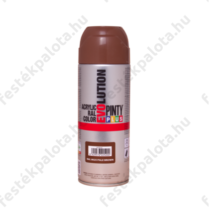 PINTY PLUS Evolution akril festék RAL 8025 halványbarna 400 ml