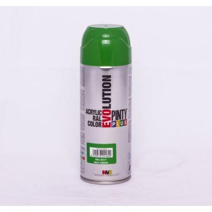 PINTY PLUS Evolution akril festék RAL 6017 május zöld 400 ml