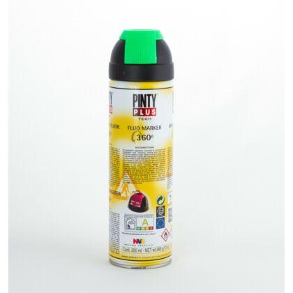 PINTY PLUS Tech jelölő spray 500 ml T136 zöld