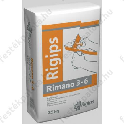 Rigips RIMANO 3-6 mm 20 kg vékony vakolat